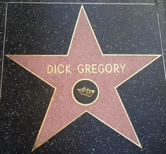 Dick Gregory Star on Hollywood Walk of Fame